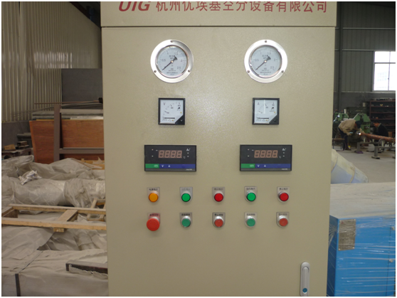 Chemical Industrial Air Separation Plant 2000 m3/h For Liquid Nitrogen , Low pressure