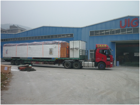Oxygen Cryogenic Air Separation Plant 550 m³ / hour , Industrial N2 Gas Generator