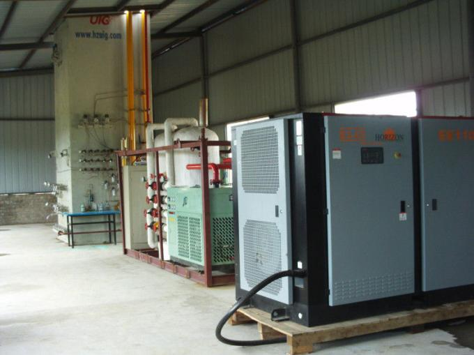 China Skid Mounted Nitrogen Generation Plant , Cryogenic Air Separation Plant suppliers
