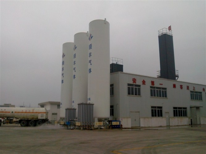 Cryogenic Air Separation Unit Process 99.7% Purity for medical And industrial Use