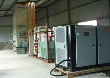 China Skid Mounted Liquid Air Separation Eqipment / Cryogenic Oxygen Production Plant supplier