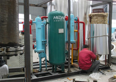 Skid Mounted Cryogenic Air Separation Unit , High Purity Liquid Oxygen Plant