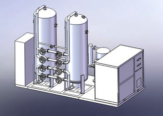 China Skid Mounted Cryogenic Nitrogen Plant , Industrial Liquid Nitrogen Generator supplier