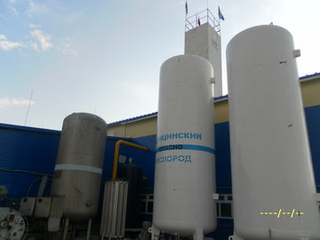 China Industrial Liquid Oxygen Plant , Air Separation Unit For Metal / Filling Cylinders And Tank supplier