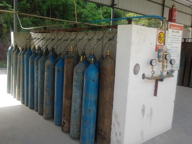 Cryogenic Air Separation Oxygen Gas Plants Bottling