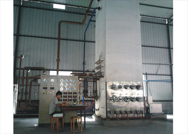 China Oxygen Cryogenic Air Separation Plant 550 m³ / hour , Industrial N2 Gas Generator factory