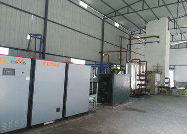 China 400v Low Power Cryogenic Air Separation Plant , Skid Mounted Liquid Nitrogen Plant factory