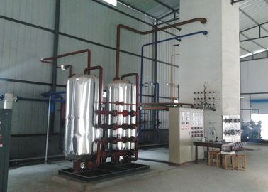 China Industrial Nitrogen Generator / Nitrogen Production Plant 380V 80 - 1000 m3/hour distributor