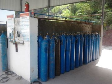 China 1000 KW Cryogenic 99.7 % Liquid Oxygen Plants For Cutting 99.999% Nitrogen Plants factory